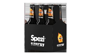 Spezi energy Sixpack 6x Flaschen 0,33l