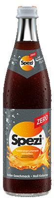 Spezi Zero Flasche 0,5 Liter
